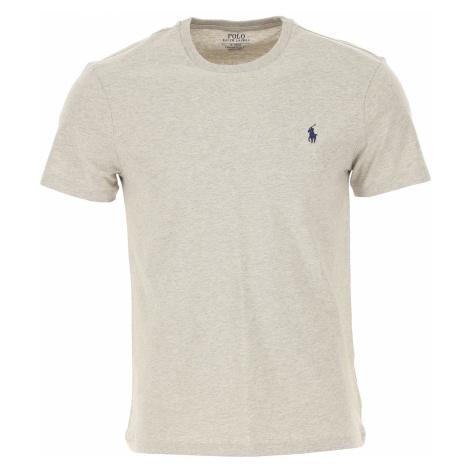 Ralph Lauren Koszulka dla Mężczyzn, szary, Bawełna, 2019