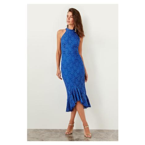 Trendyol Saks Lace Dress