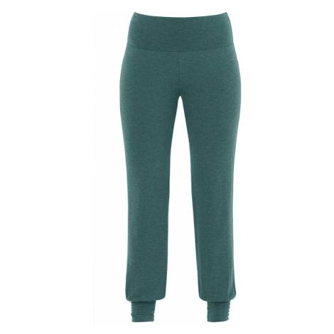 PALMERS Spodnie od piżamy 'Garden Nights' zielony