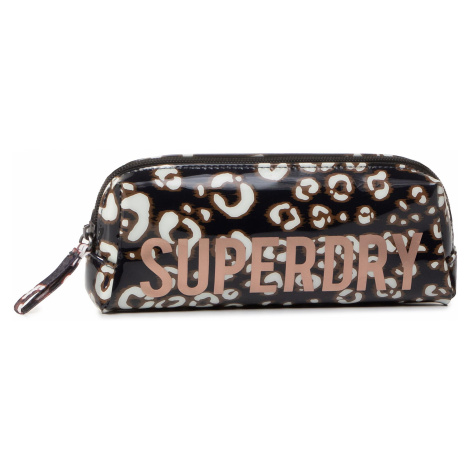 Piórnik SUPERDRY - Jelly Pencil Case W9810025A Leopard Print
