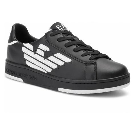 Sneakersy EA7 EMPORIO ARMANI - X8X043 XK075 A120 Black/White