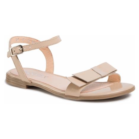 Sandały ANN MEX - 0865 02LR Róż
