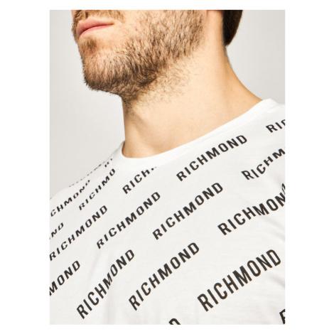 John Richmond T-Shirt Gattusy UMP20028TS Biały Regular Fit
