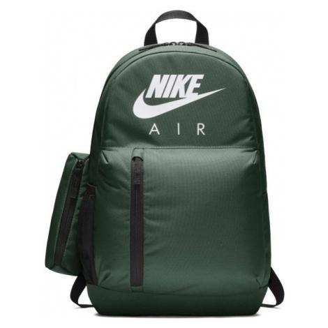 Nike KIDS ELEMENTAL GRAPHIC zielony  - Plecak dziecięcy