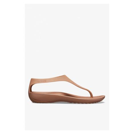 Sandały Crocs Serena Flip W 205468-860 Bronze