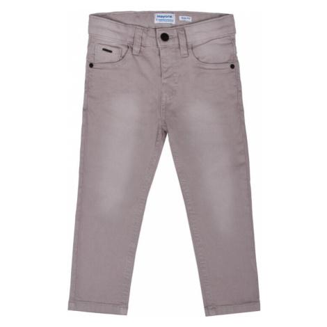 Mayoral Spodnie materiałowe 3517 Szary Slim Fit