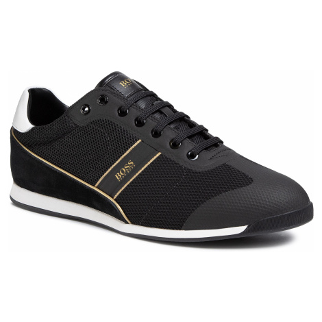 Sneakersy BOSS - Glaze 50414721 10220062 01 Black 007 Hugo Boss