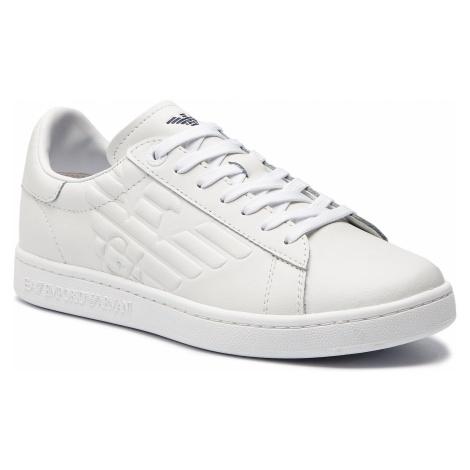 Sneakersy EA7 EMPORIO ARMANI - X8X001 XCC51 00001 White