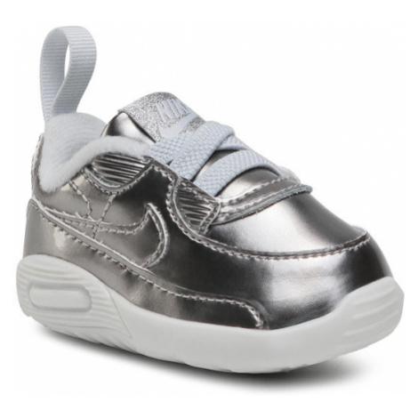 Nike Buty Max 90 Crib Qs CV2397 001 Srebrny