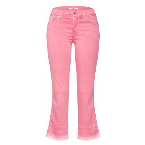 7 For All Mankind Jeansy różowy