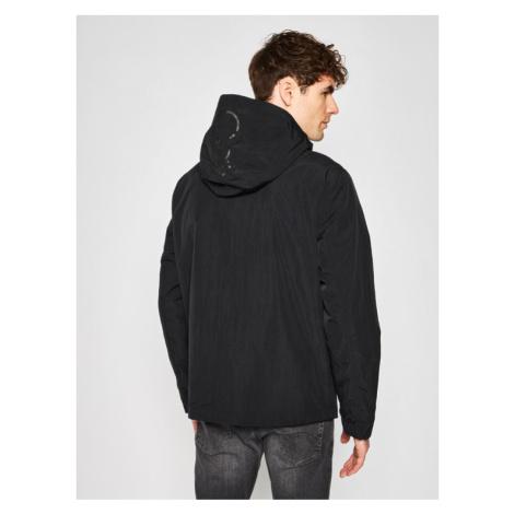 Calvin Klein Kurtka przejściowa Crinkle K10K105265 Czarny Regular Fit