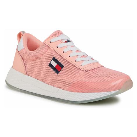 Sneakersy TOMMY JEANS - Wmns Tommy Jeans Flexi Runner EN0EN00946 Sweet Peach TKE Tommy Hilfiger