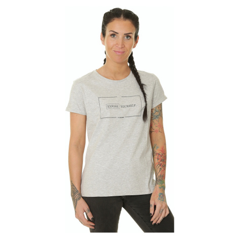 T-shirt 4F H4L19-TSD007 - 27M/Cold Light Gray Melange