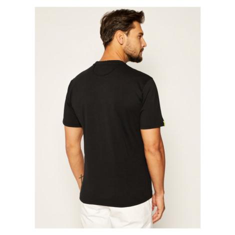La Martina T-Shirt QMR300 JS206 Czarny Comfort Fit