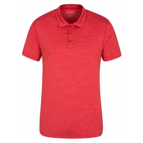 Zakti Agra - męskie polo - Red