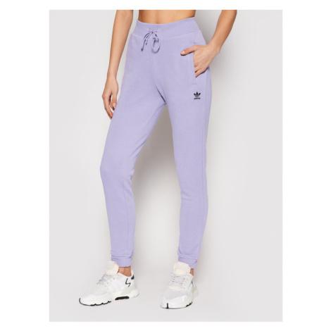 Adidas Spodnie dresowe Track GN4797 Fioletowy Slim Fit