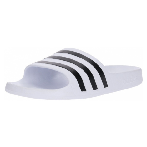 ADIDAS PERFORMANCE Buty na plażę/do kąpieli 'Adilette Aqua' czarny / biały