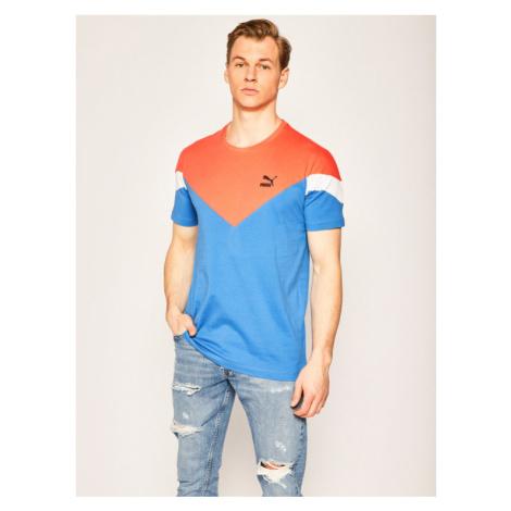 Puma T-Shirt Iconic Mcs Tee 596444 Niebieski Slim Fit