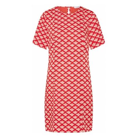 Calvin Klein Sukienka czerwony / biały