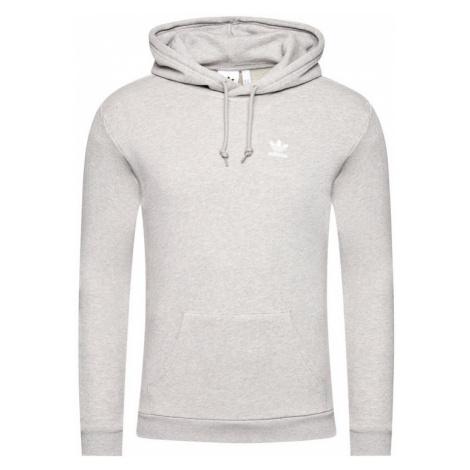 Adidas Bluza Essential Hoody FM9958 Szary Standard Fit