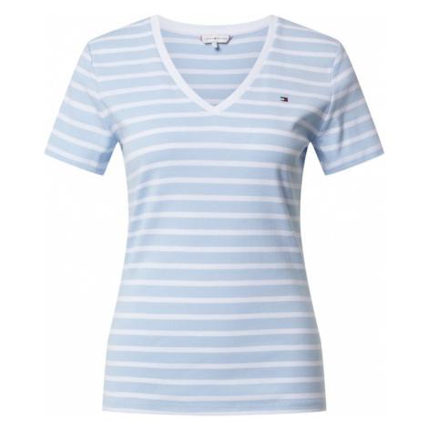 TOMMY HILFIGER Koszulka 'Aisha' jasnoniebieski / biały