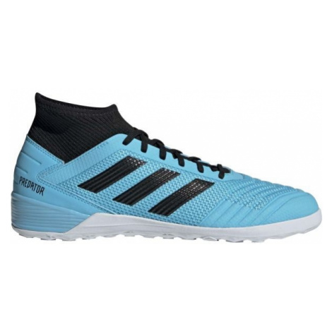 adidas PREDATOR 19.3 IN niebieski 11.5 - Obuwie piłkarskie halowe męskie