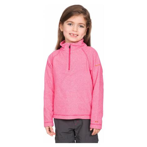 Różowe dziewczęce sportowe bluzy