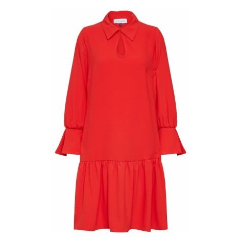 Closet London Sukienka koszulowa czerwony
