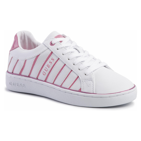 Sneakersy GUESS - Bolier FL5BOL ELE12 WHITE/PINK