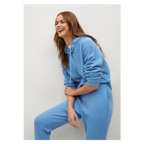 Mango Spodnie dresowe Maxime8 87084039 Niebieski Regular Fit