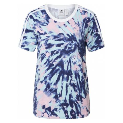 ADIDAS ORIGINALS Koszulka turkusowy / różowy pudrowy