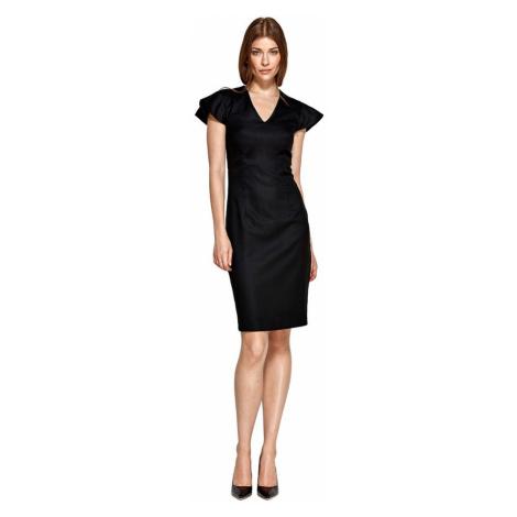 Sukienka z oryginalnymi rękawami Colett