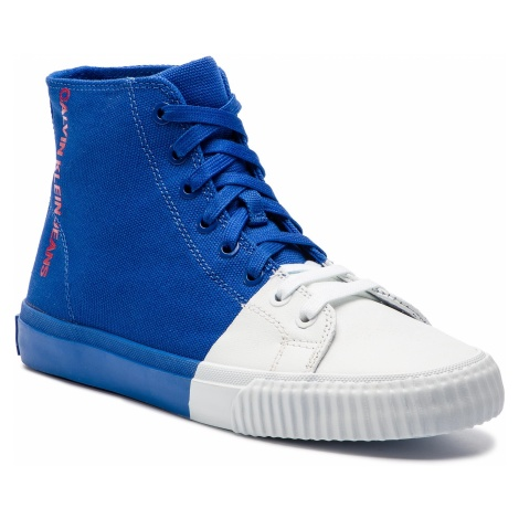 Sneakersy CALVIN KLEIN JEANS - Iridea R7778 Nautical Blue/White