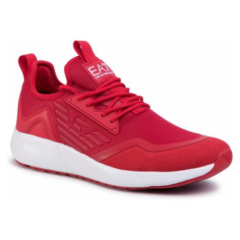 Sneakersy EA7 EMPORIO ARMANI - X8X030 XK129 M525 Racing Red