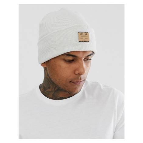 Nike Jordan patch logo beanie in cream