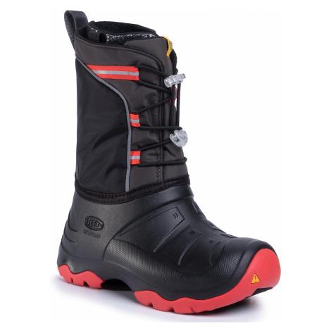 Śniegowce KEEN - Lumi Boot Wp 1021976 Bright Red/Black