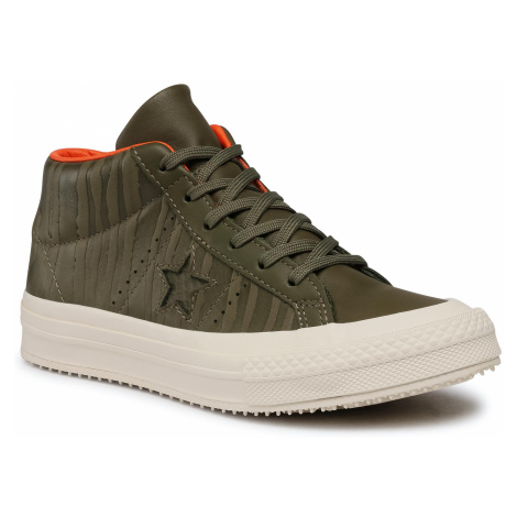 Sneakersy CONVERSE - One Star Counter Climate Mid 158836C Medium Olive/Black