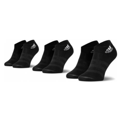 Adidas Zestaw 3 par niskich skarpet unisex Light Ank 3Pp DZ9436 Czarny