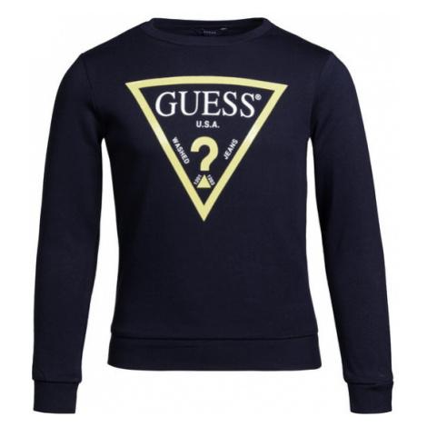 Guess Bluza Junior Core L73Q09 K5WK0 Granatowy Regular Fit