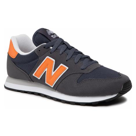 Sneakersy NEW BALANCE - GM500TM1 Szary