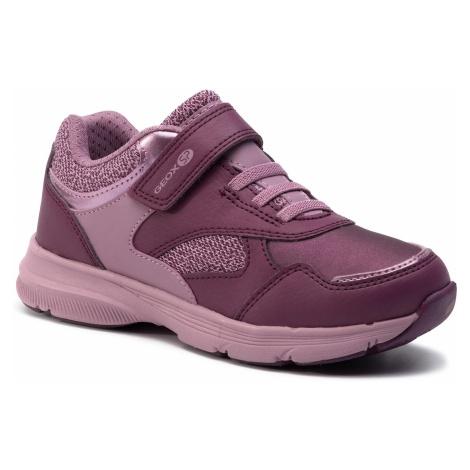 Sneakersy GEOX - J Hoshiko G. C J844SC 0FE14 C8U8Q S Lt Prune/Lavender