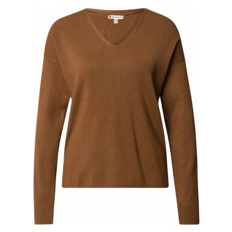 STREET ONE Sweter brązowy