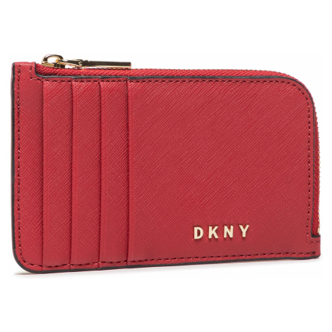 Etui na karty kredytowe DKNY - Gifting Ew Zip Card R03Z1H42 Bright Red 620