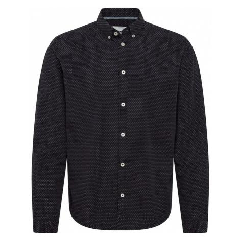 TOM TAILOR Koszula czarny / biały