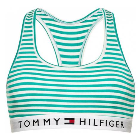TOMMY HILFIGER Biustonosz top UW0UW02348 Zielony