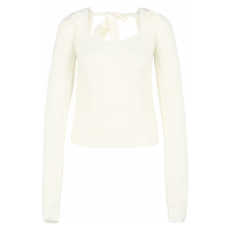 Missguided (Petite) Sweter kremowy