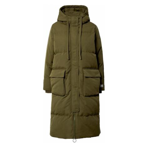 GAP Płaszcz zimowy oliwkowy