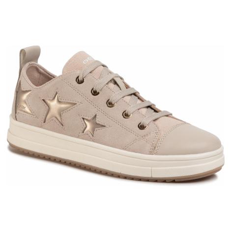 Sneakersy GEOX - J Rebecca G. F J02BDF 02210 C5000 S Beige