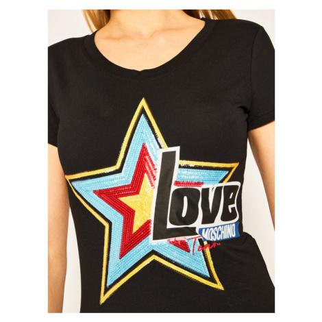 LOVE MOSCHINO T-Shirt W4B195CE1698 Regular Fit