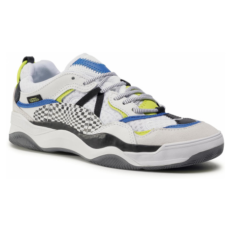 Sneakersy VANS - Varix Wc VN0A3WLNXNI1 (Distort Check)Tr Wht/Blk